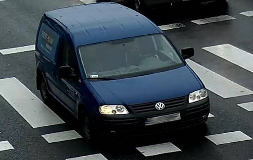 Example with rotated license plate